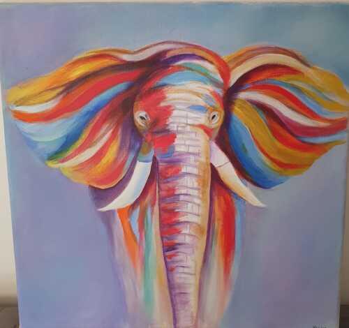 Elephant colour